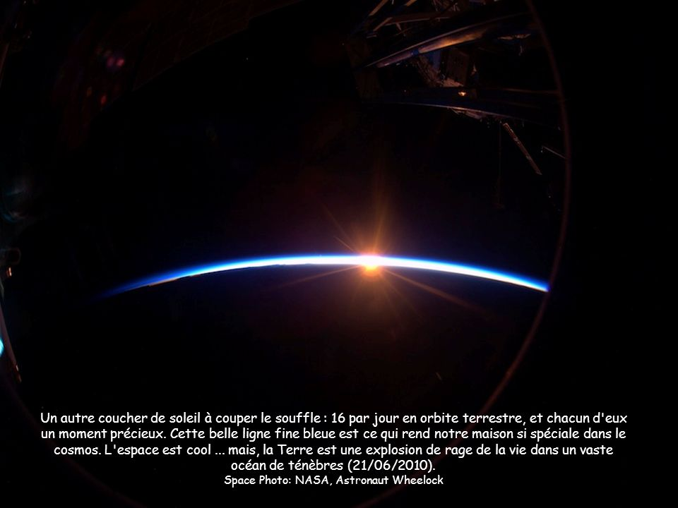 Space Photo: NASA, Astronaut Wheelock