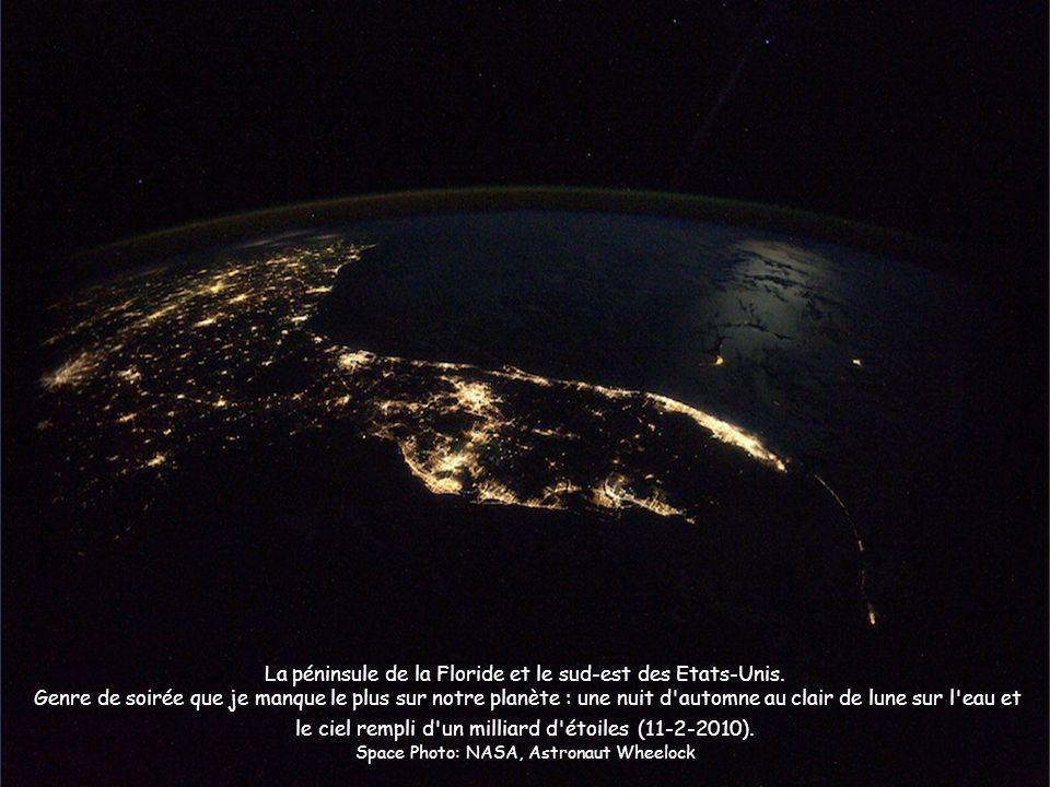 La péninsule de la Floride et le sud-est des Etats-Unis.
