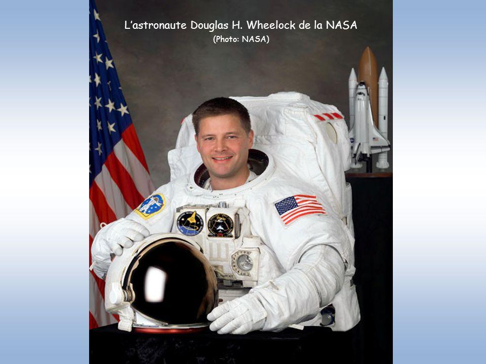 L'astronaute Douglas H. Wheelock de la NASA