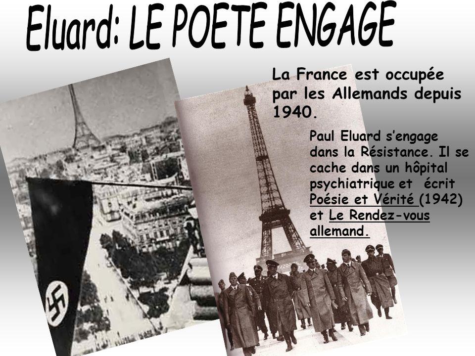Eluard: LE POETE ENGAGE