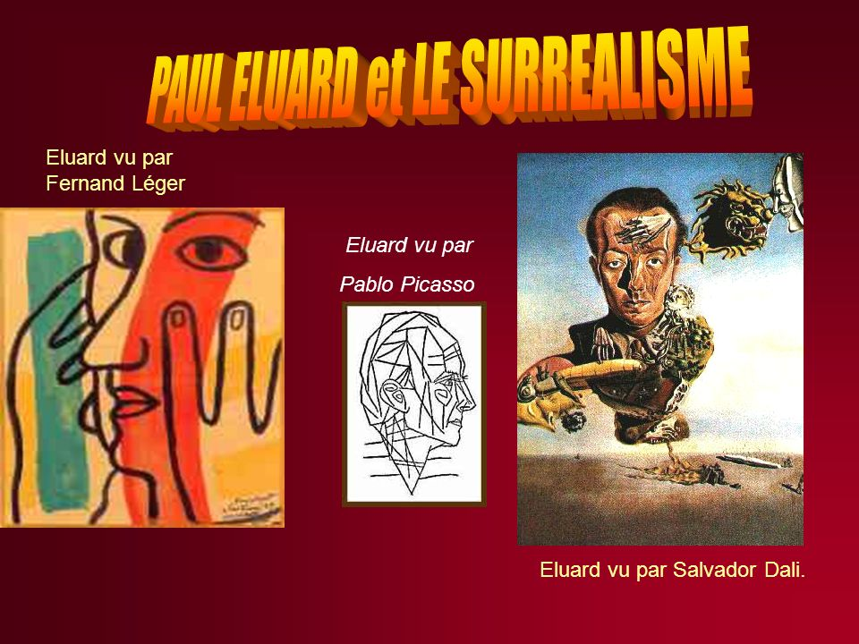 PAUL ELUARD et LE SURREALISME
