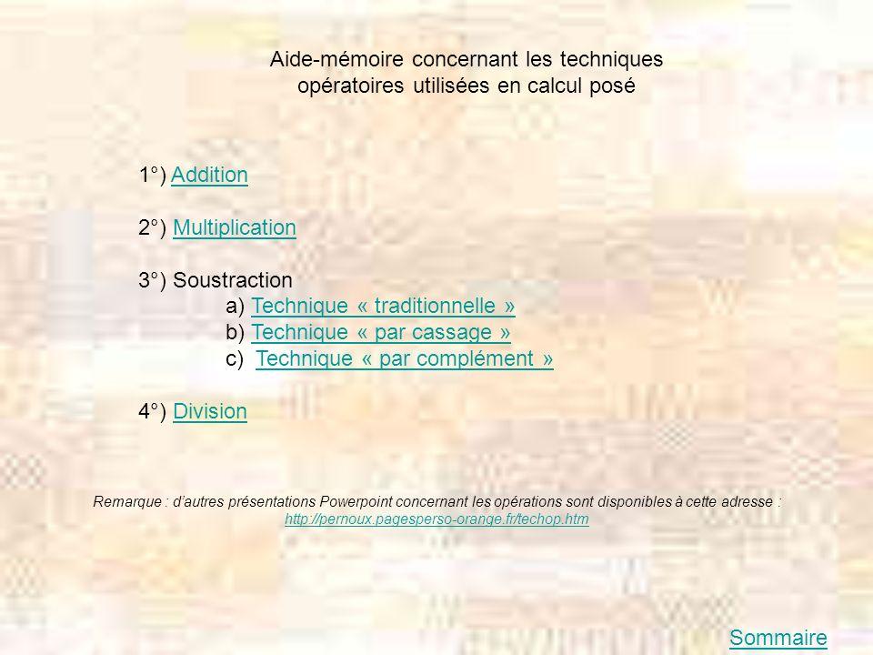 a) Technique « traditionnelle » b) Technique « par cassage »