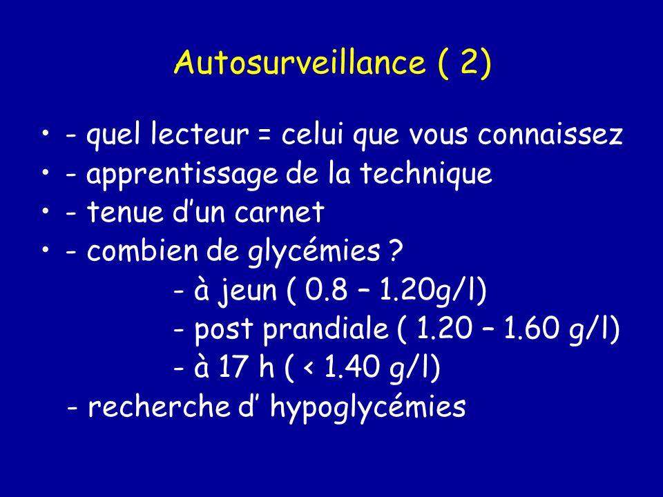 Autosurveillance ( 2) - quel lecteur = celui que vous connaissez
