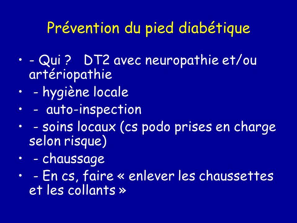 Prévention du pied diabétique