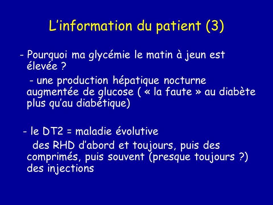 L'information du patient (3)