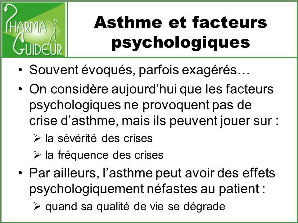 Asthme et facteurs psychologiques