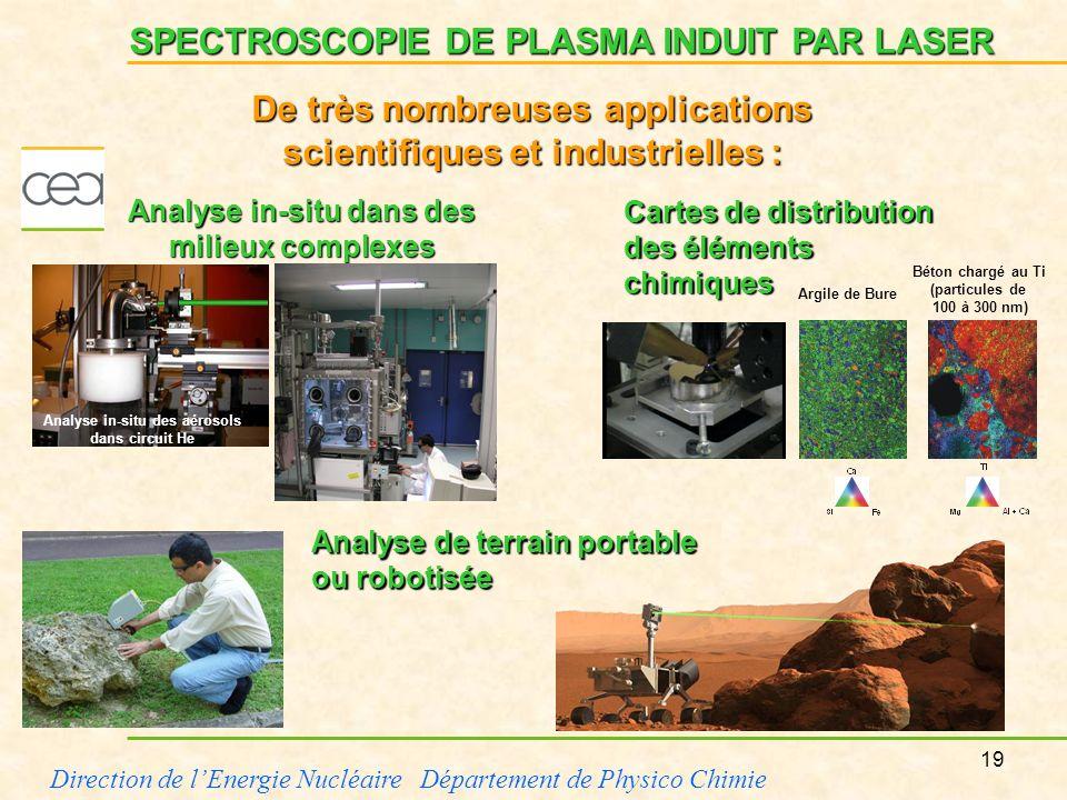 De très nombreuses applications scientifiques et industrielles :