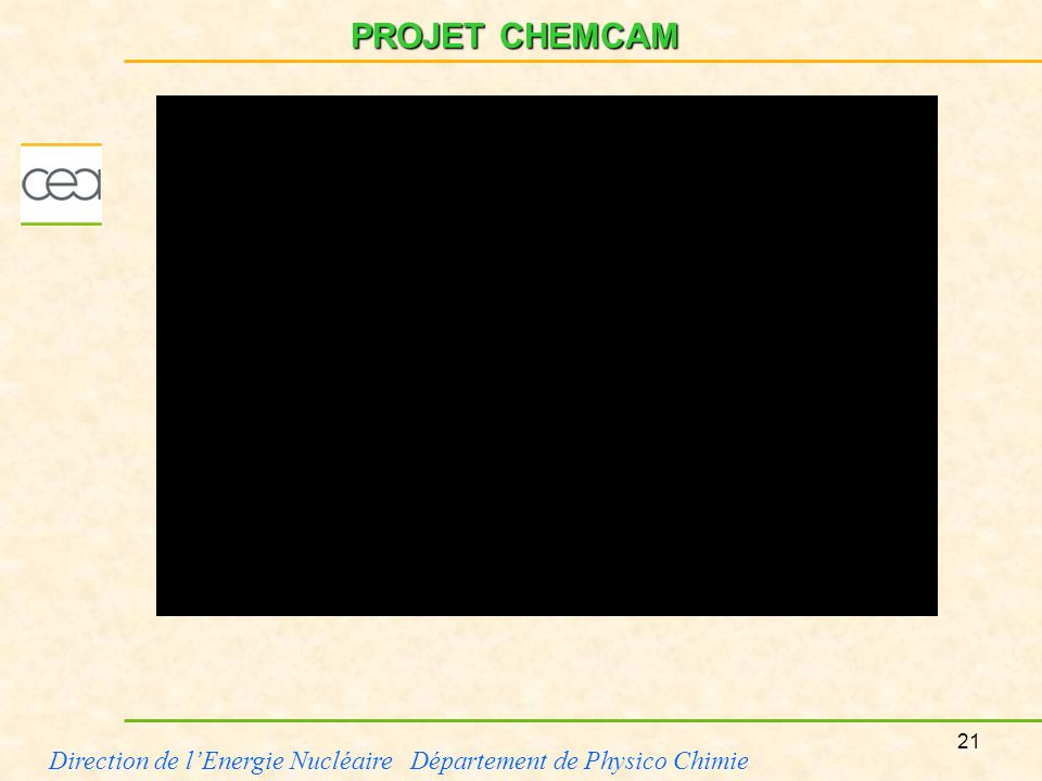 PROJET CHEMCAM