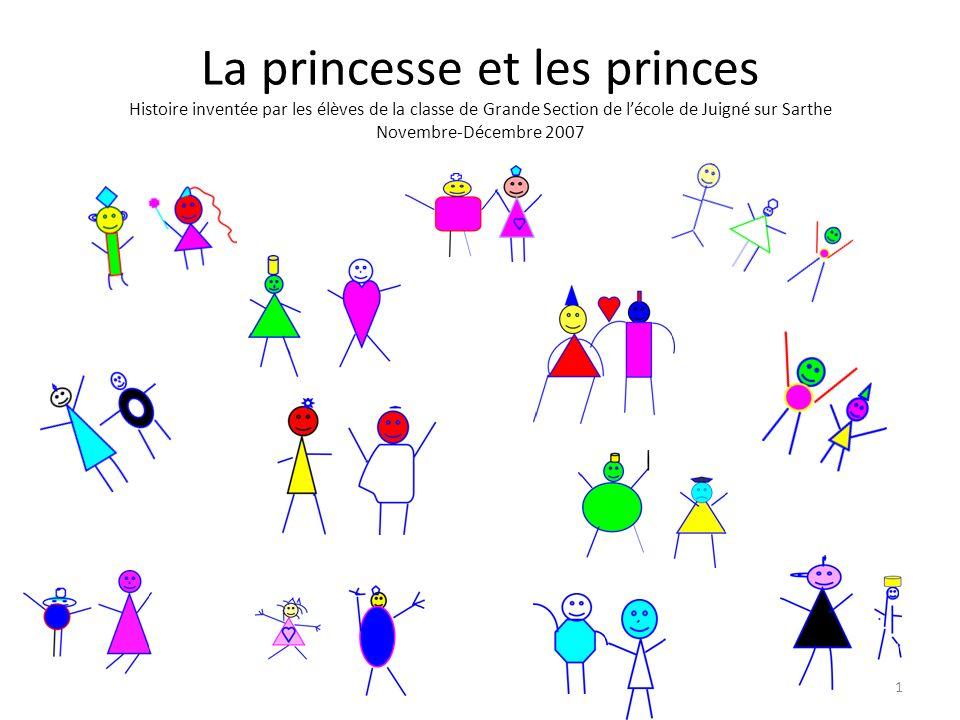 La princesse et les princes Histoire inventée par les élèves de la classe de Grande Section de l'école de Juigné sur Sarthe Novembre-Décembre 2007