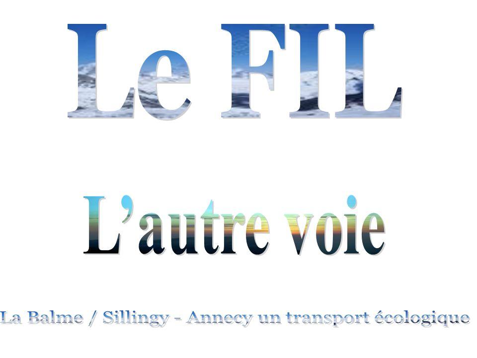 La Balme / Sillingy - Annecy un transport écologique