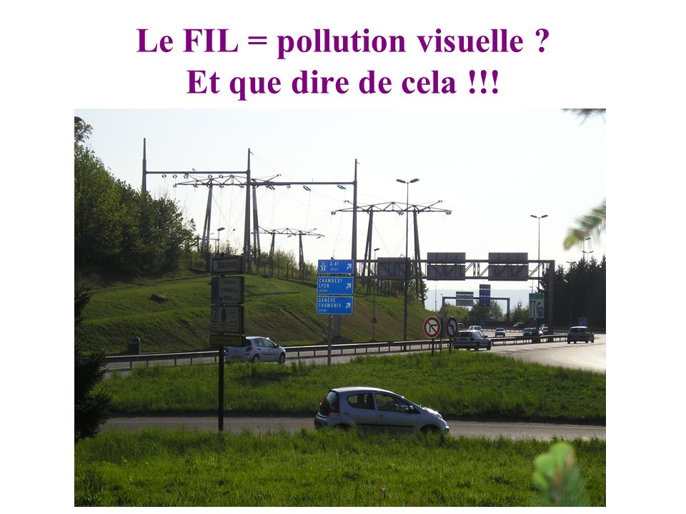 Le FIL = pollution visuelle Et que dire de cela !!!