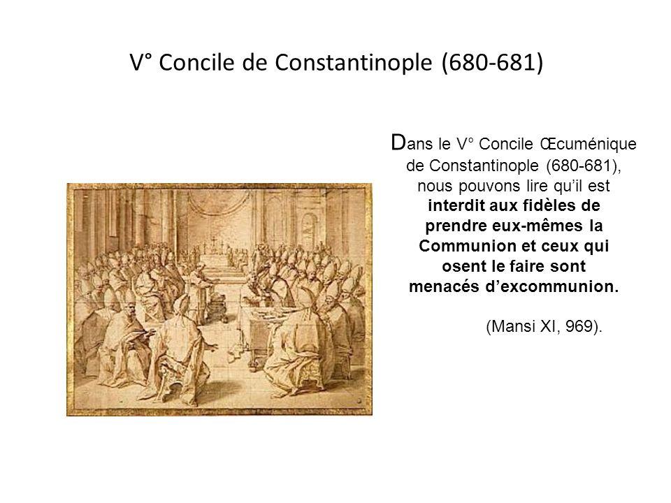 V° Concile de Constantinople (680-681)
