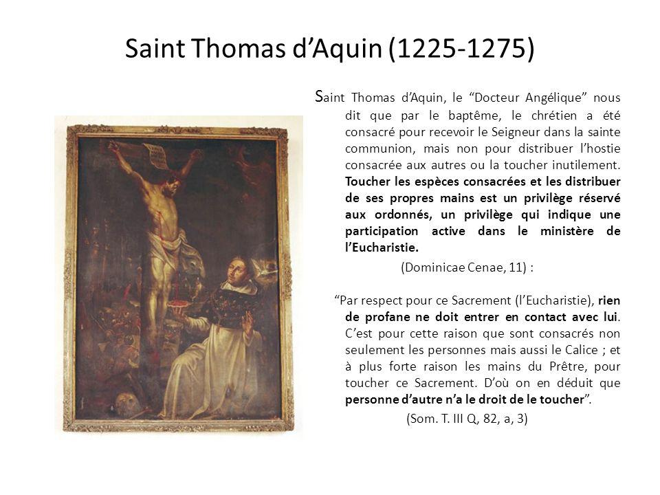 Saint Thomas d'Aquin (1225-1275)