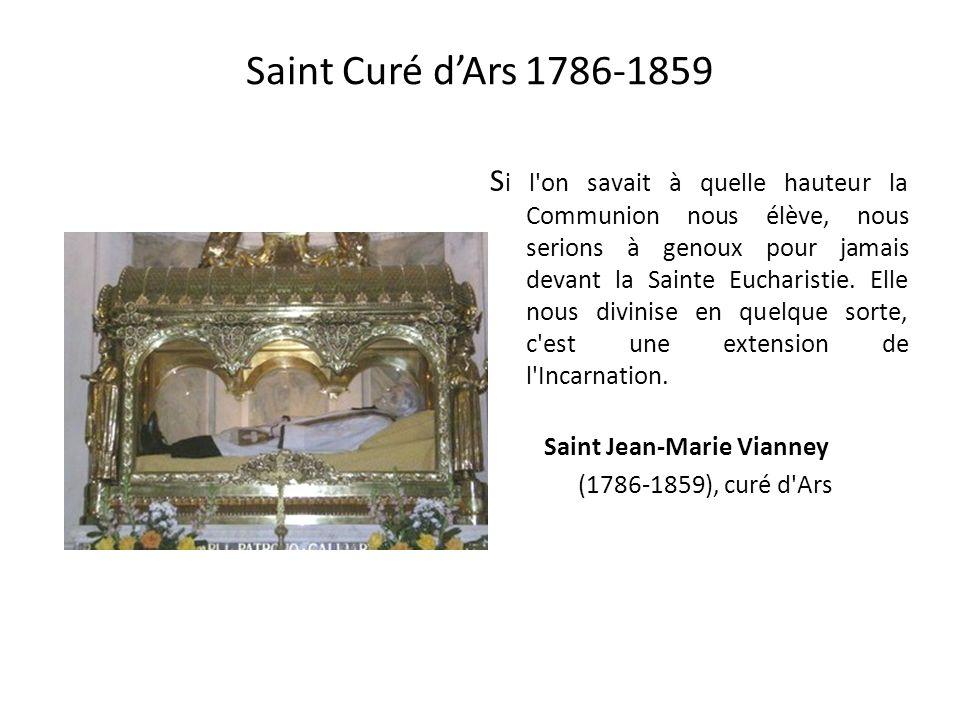 Saint Curé d'Ars 1786-1859