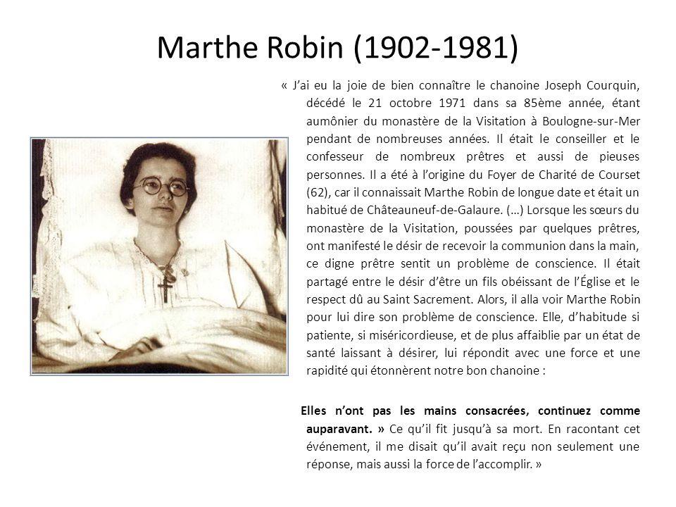 Marthe Robin (1902-1981)