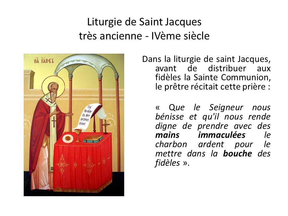 Liturgie de Saint Jacques très ancienne - IVème siècle