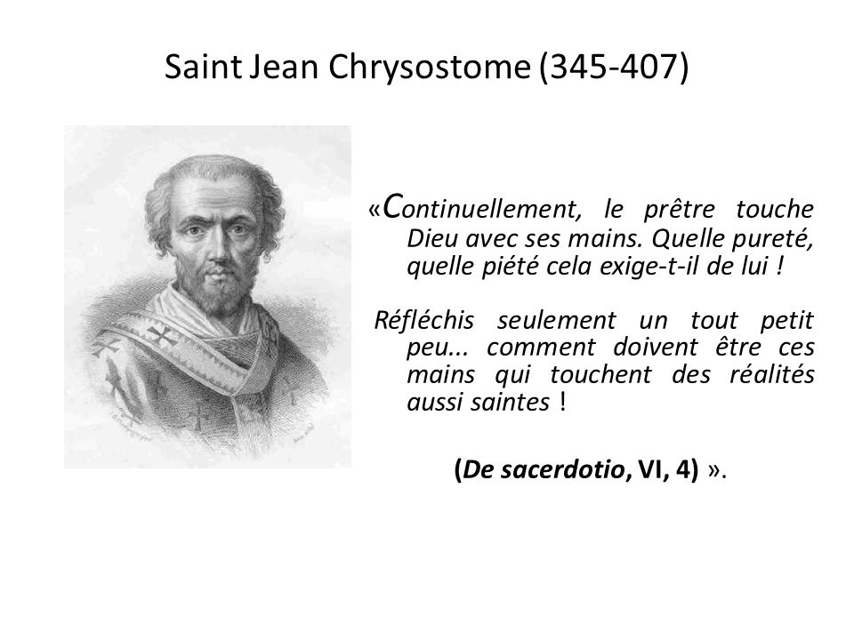 Saint Jean Chrysostome (345-407)