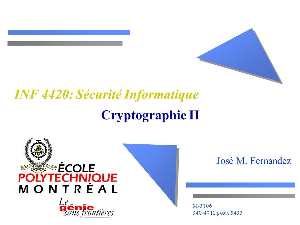 INF 4420: Sécurité Informatique