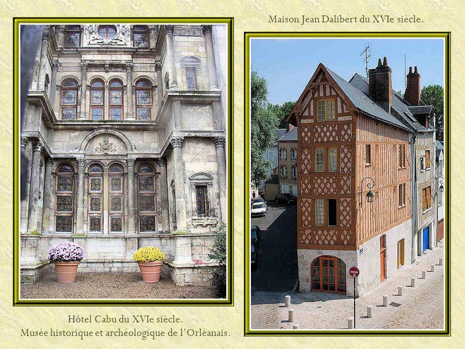 Maison Jean Dalibert du XVIe siècle.