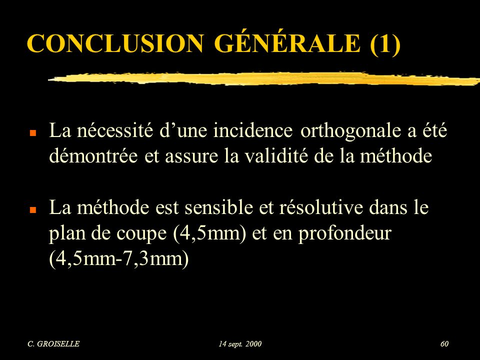CONCLUSION GÉNÉRALE (1)