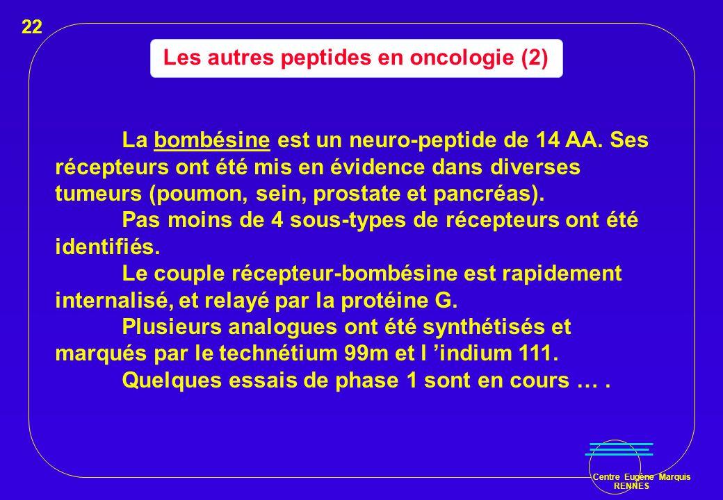 Les autres peptides en oncologie (2)