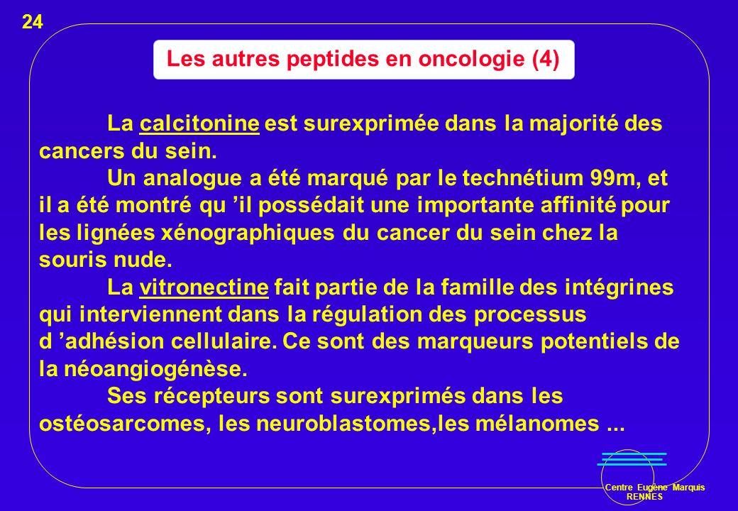 Les autres peptides en oncologie (4)