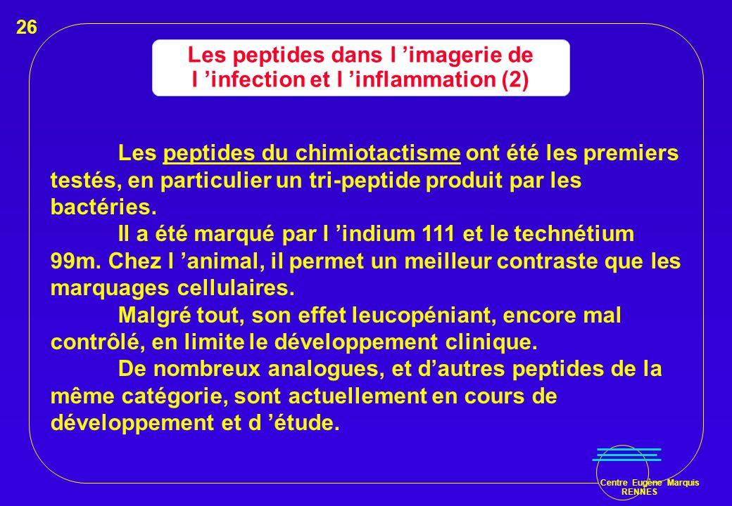 Les peptides dans l 'imagerie de l 'infection et l 'inflammation (2)