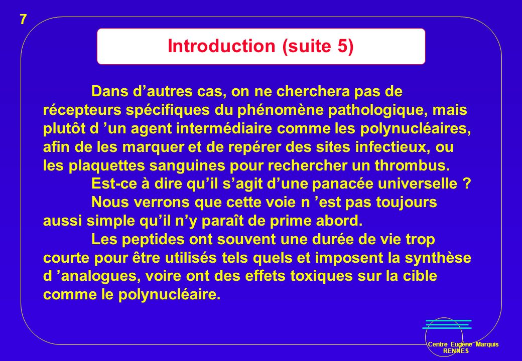 7 Introduction (suite 5)