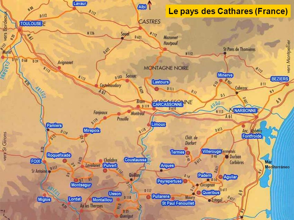 Le pays des Cathares (France)