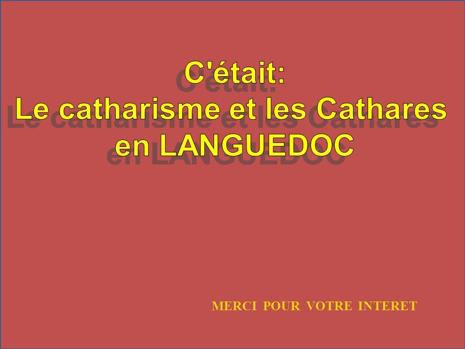 Le catharisme et les Cathares
