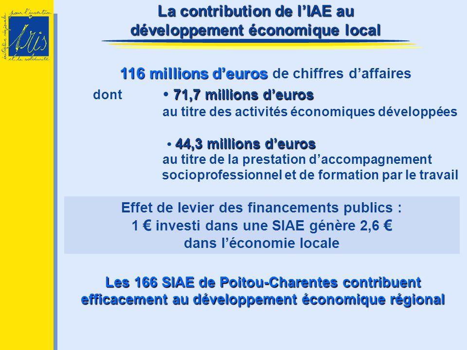 La contribution de l'IAE au développement économique local
