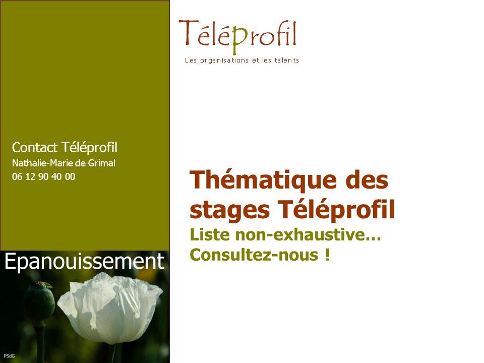 Contact Téléprofil Nathalie-Marie de Grimal 06 12 90 40 00