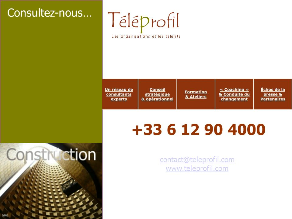 +33 6 12 90 4000 Consultez-nous… contact@teleprofil.com