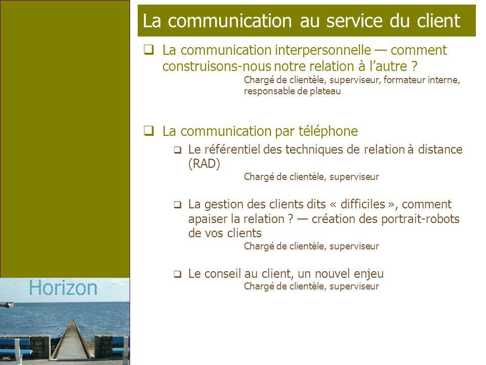 La communication au service du client