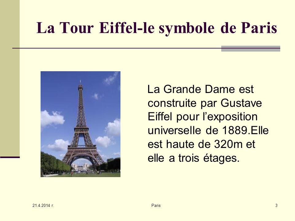 La Tour Eiffel-le symbole de Paris