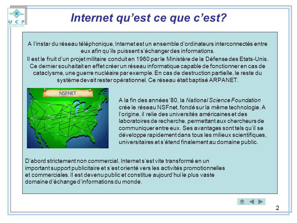Internet qu'est ce que c'est