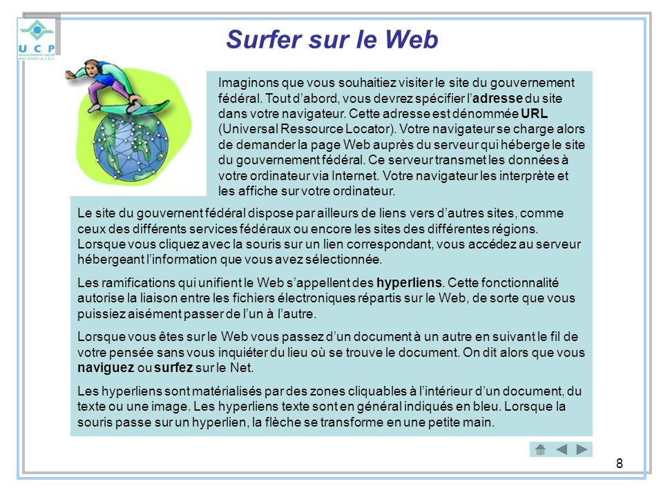 Surfer sur le Web