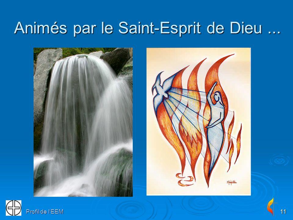 Animés par le Saint-Esprit de Dieu ...