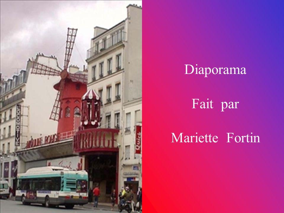 Diaporama Fait par Mariette Fortin