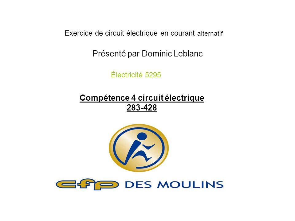Compétence 4 circuit électrique