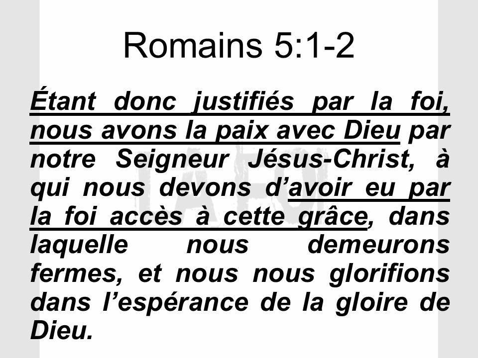 Romains 5:1-2