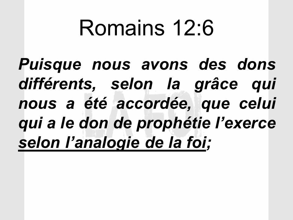 Romains 12:6
