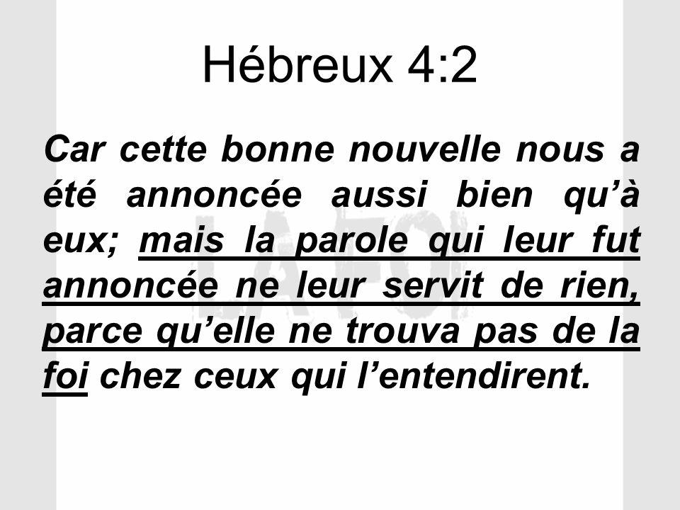 Hébreux 4:2