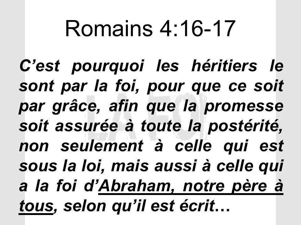 Romains 4:16-17