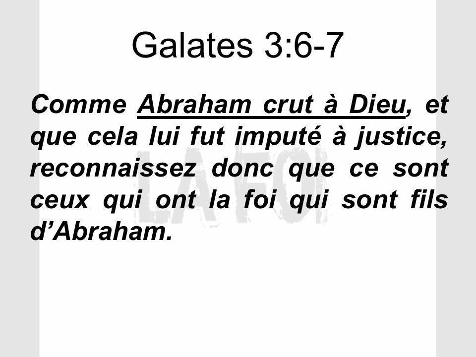 Galates 3:6-7