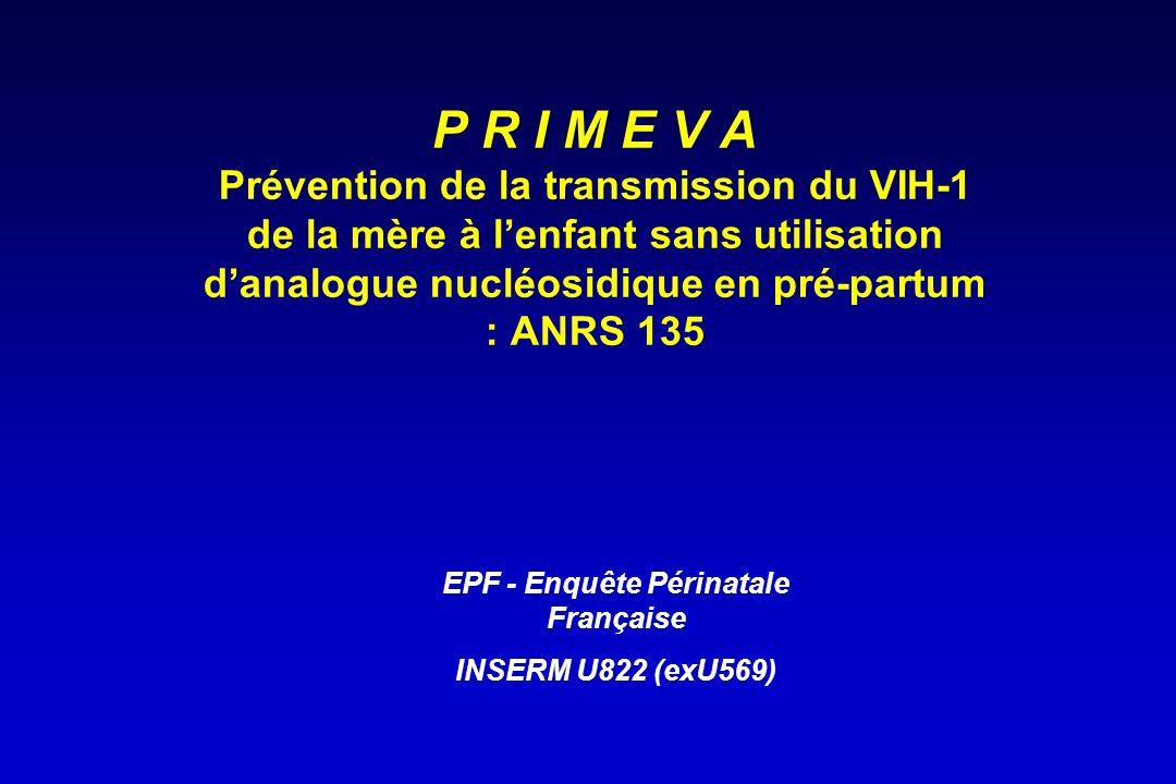 EPF - Enquête Périnatale Française