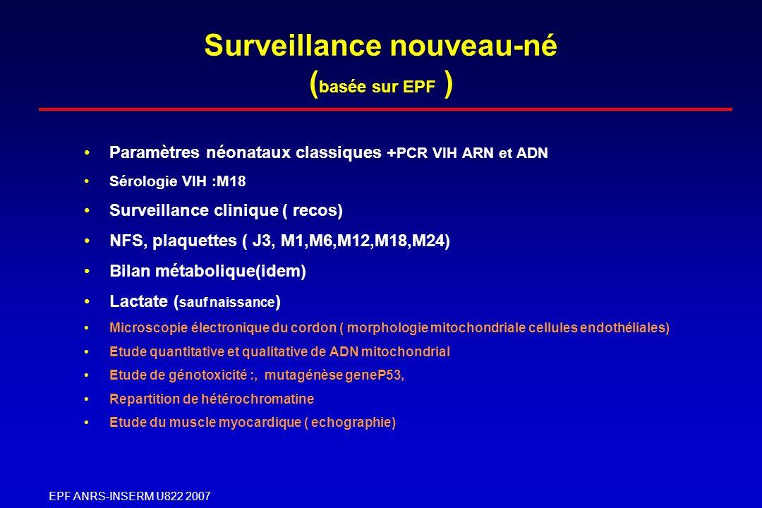 Surveillance nouveau-né (basée sur EPF )