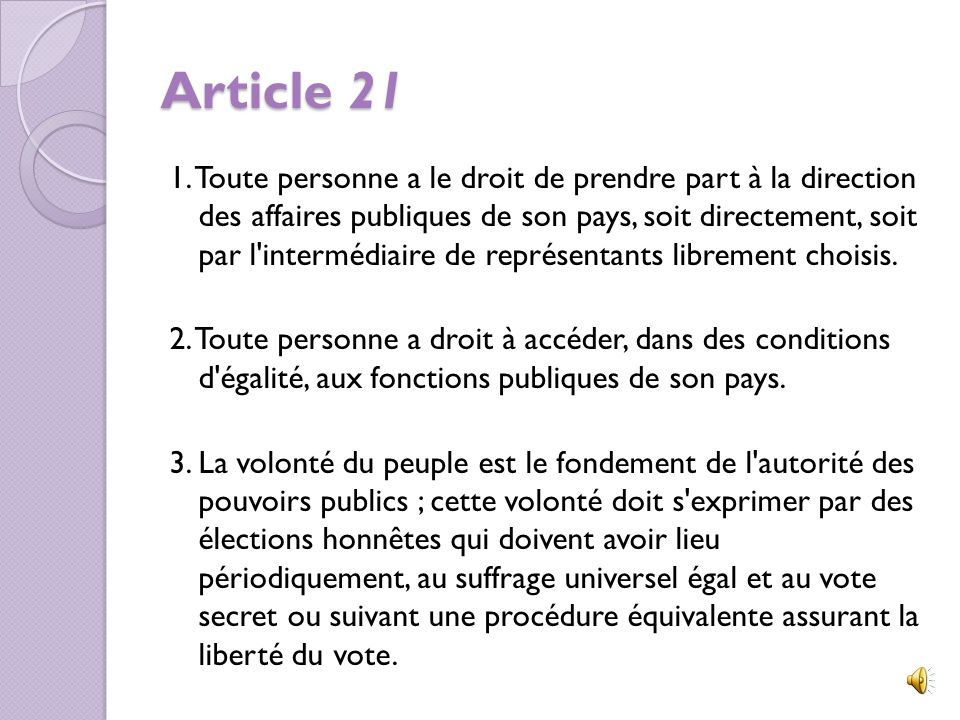 Article 21