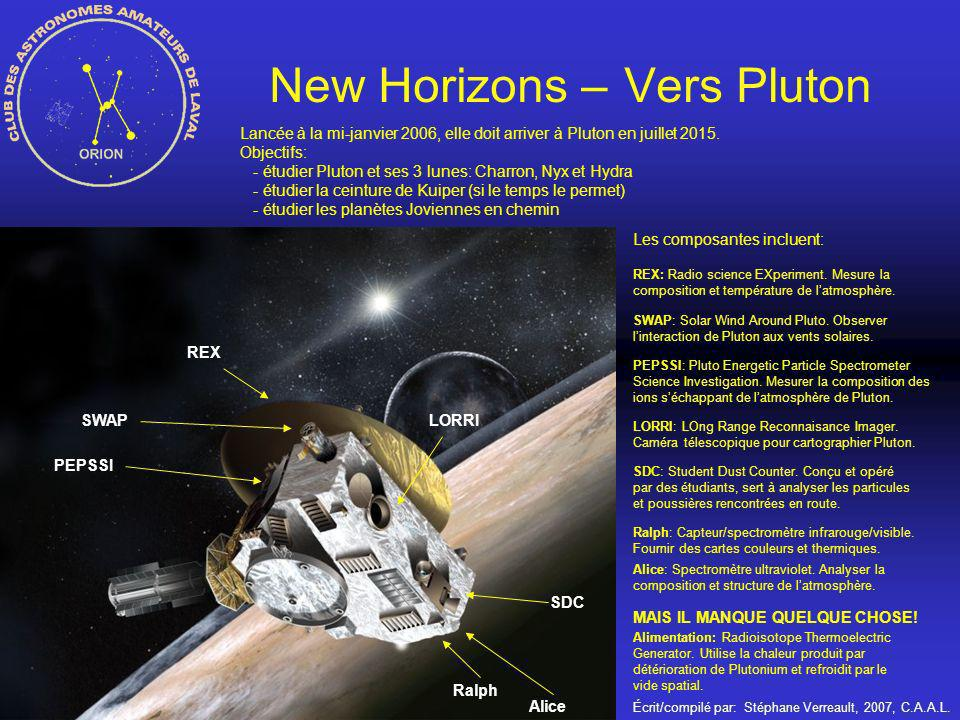 New Horizons – Vers Pluton