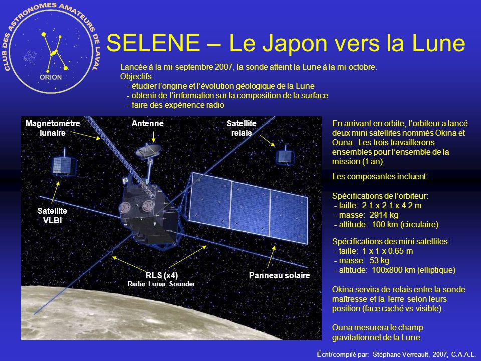 SELENE – Le Japon vers la Lune